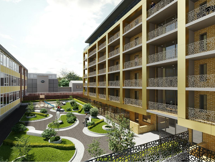 Residential development of 33 flats in Harlow