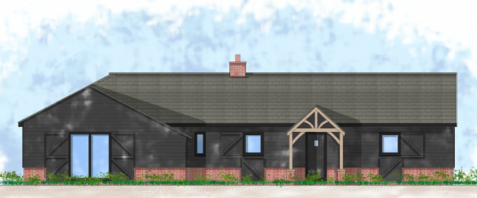 redevelopment of barns to residential housing in greenbelt