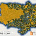 Basingstoke and Deane development constraints map