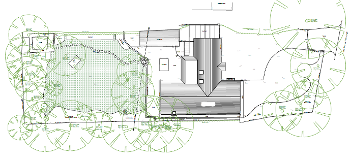 site plan for replacement dwelling in green belt