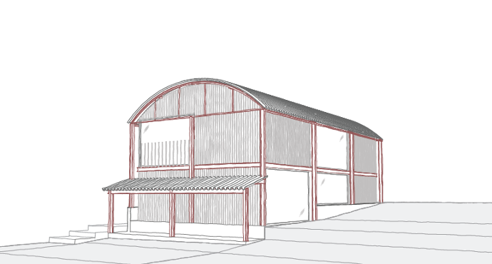 Dutch Barn Conversion Cotswolds