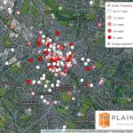 empty commercial units in Cheltenham October 2018