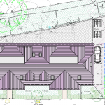 site plan of flatted development