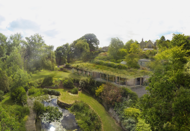 Anew dwelling in the garden, Stroud