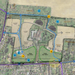 plan for development proposal for 80 dwellings