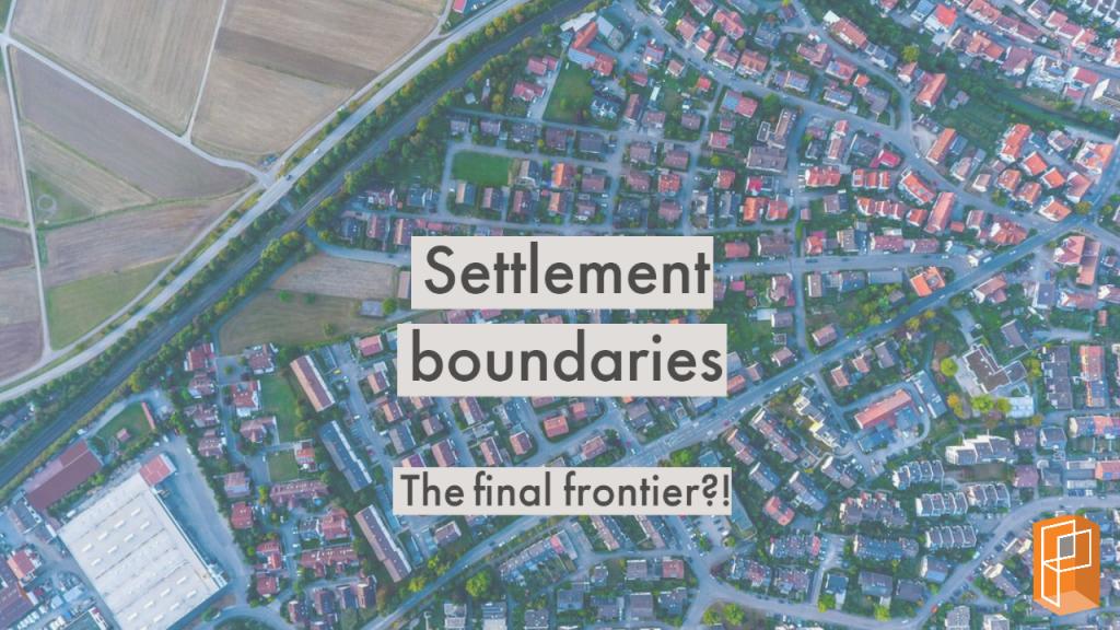 Settlement boundary - planning permissions