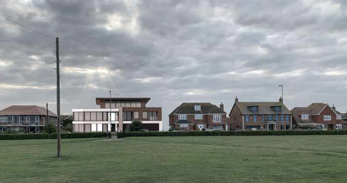 planning secured for contemporary dwelling