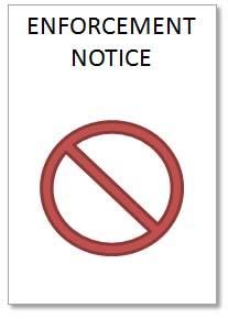don t ignore enforcement notices plainview planning