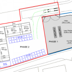 fuel depot and commercial units planning