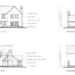 self build dwelling elevation
