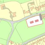 site plan for self build houses outside settlement boundary