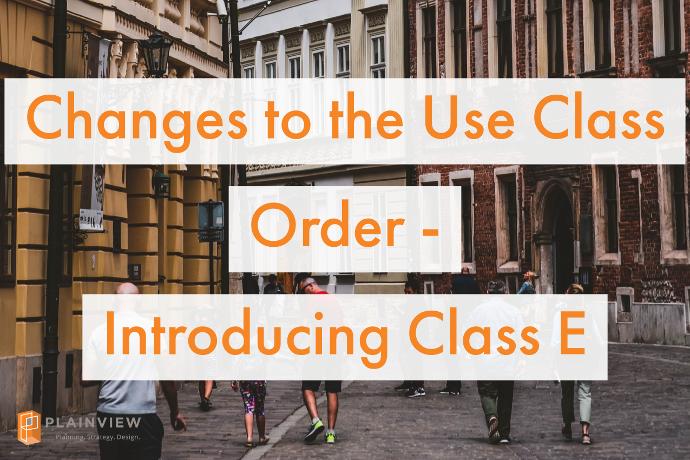 Class E Use Order