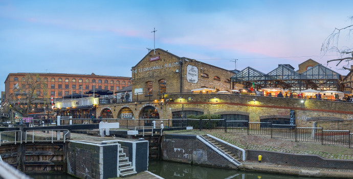 image of Camden Lock ref a change of use application